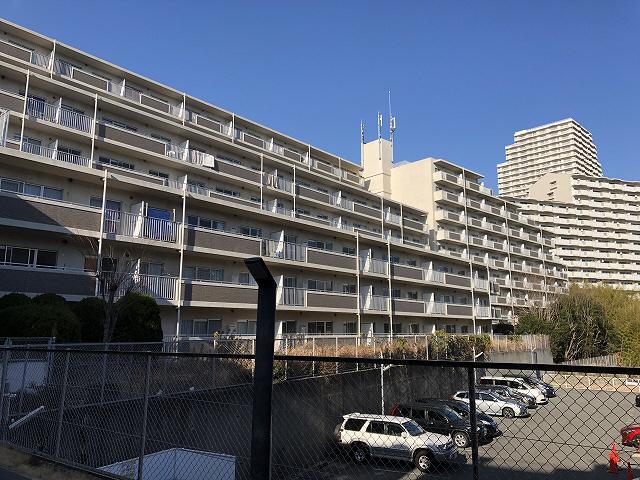 物件番号: 1025882790 シティ南落合  神戸市須磨区南落合1丁目 3DK マンション 外観画像