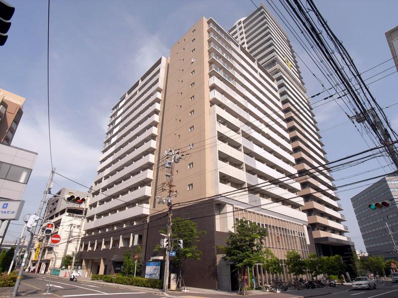 物件番号: 1025857026 レジディア神戸磯上  神戸市中央区磯上通3丁目 1K マンション 外観画像