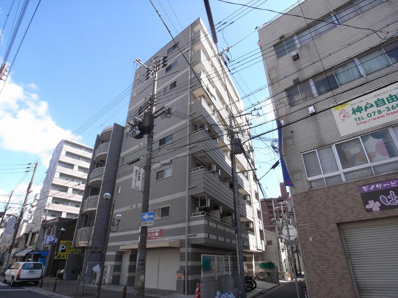 物件番号: 1025831546 アネスト神戸西元町  神戸市中央区北長狭通7丁目 1K マンション 外観画像