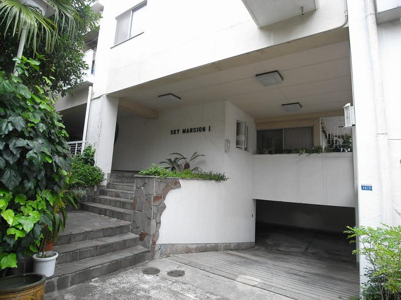 物件番号: 1025827972 第1スカイマンション  神戸市中央区北野町4丁目 2LDK マンション 外観画像