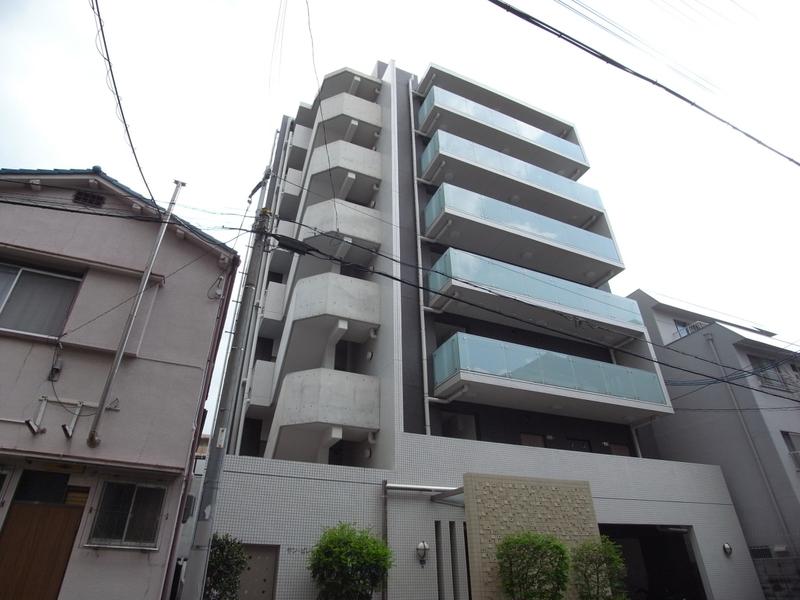 物件番号: 1025827652 サンビレッジ布引  神戸市中央区生田町4丁目 1DK マンション 外観画像