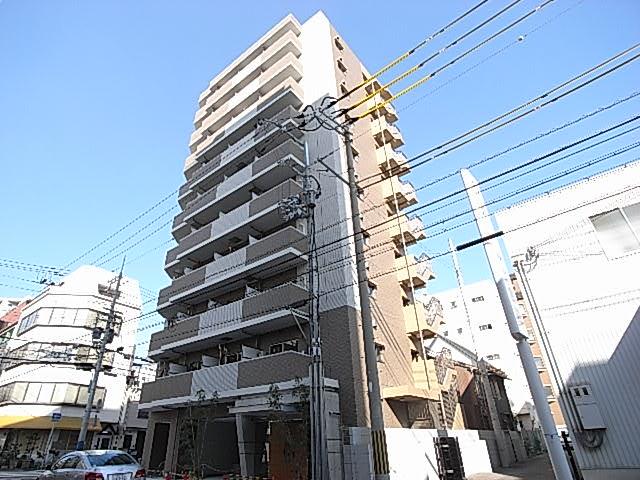 物件番号: 1025828716 ラナップスクエア湊川公園  神戸市兵庫区中道通1丁目 1K マンション 外観画像