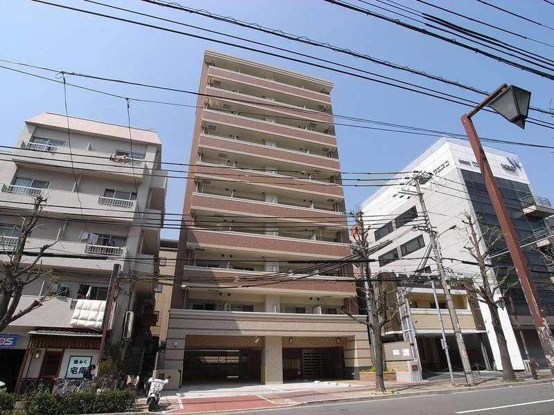 物件番号: 1025828717 モンテマーレ北野  神戸市中央区生田町2丁目 1R マンション 外観画像