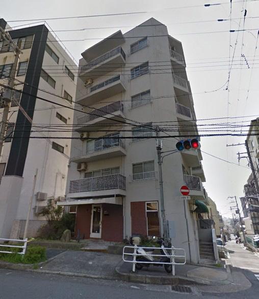 物件番号: 1025882787 グリーンヒルハイツ  神戸市中央区熊内町4丁目 2LDK マンション 外観画像