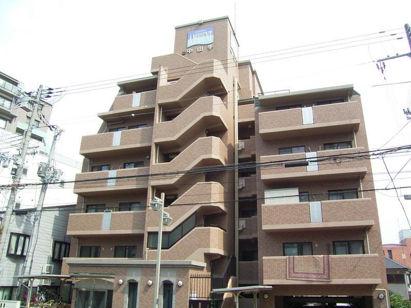 物件番号: 1025800150 アンビエント中山手  神戸市中央区中山手通4丁目 2LDK マンション 外観画像