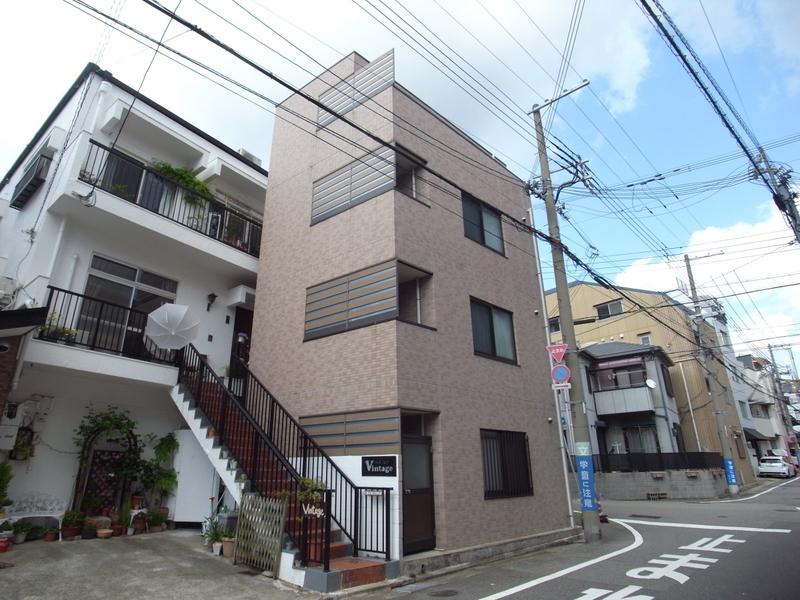 物件番号: 1025832024 マーブルコート三宮  神戸市中央区生田町4丁目 1DK マンション 外観画像