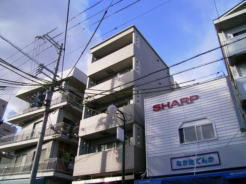 物件番号: 1025823482 M's三宮  神戸市中央区八雲通6丁目 1K マンション 外観画像