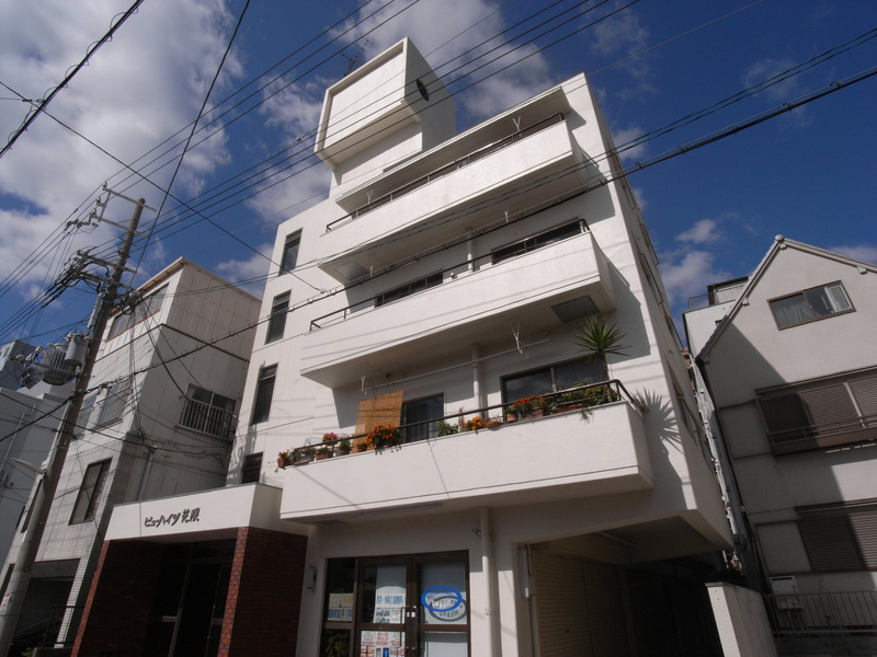 物件番号: 1025881892 ビューハイツ花隈  神戸市中央区花隈町 1LDK マンション 外観画像