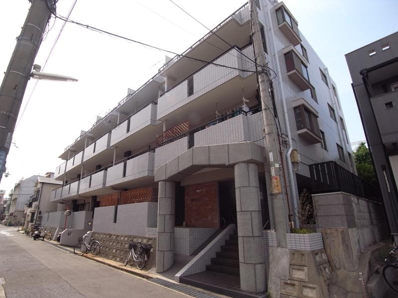 物件番号: 1025882624 メロディ三宮東  神戸市中央区神若通3丁目 2LDK マンション 外観画像