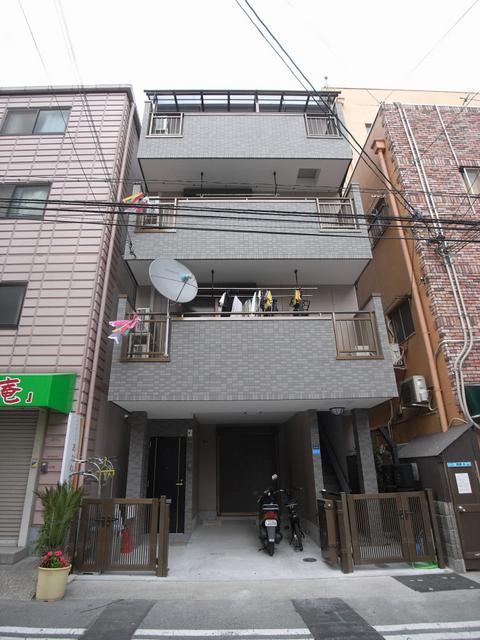物件番号: 1025870305 リーフマンション  神戸市中央区旭通2丁目 1LDK マンション 外観画像