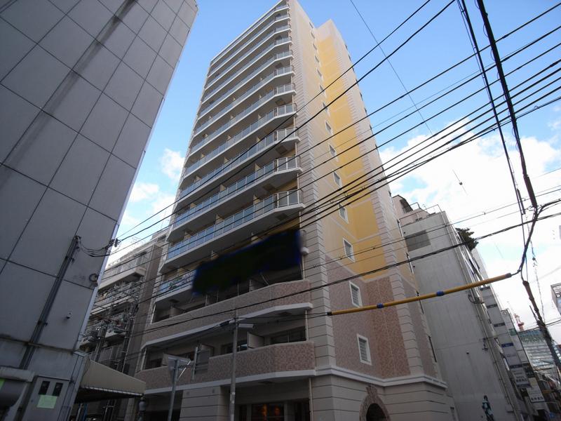物件番号: 1025843518 エステムコート三宮駅前Ⅱアデシオン  神戸市中央区加納町3丁目 1LDK マンション 外観画像