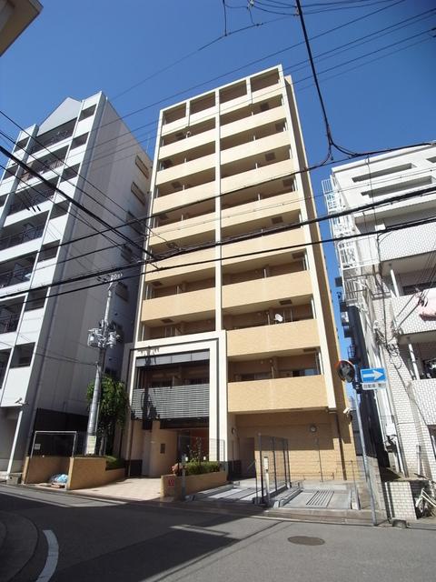 物件番号: 1025872345 スワンズコート新神戸  神戸市中央区生田町2丁目 1K マンション 外観画像