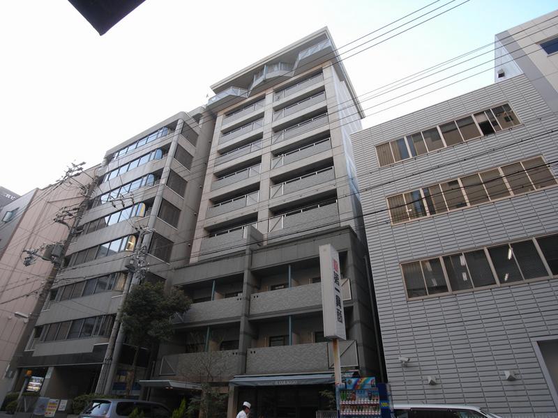 物件番号: 1025800166 プリンスコート  神戸市中央区御幸通5丁目 1DK マンション 外観画像