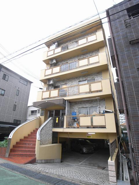 物件番号: 1025819127 サンビルダー三宮東  神戸市中央区国香通6丁目 1LDK マンション 外観画像