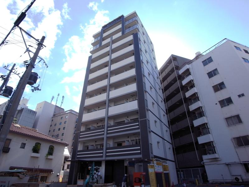 物件番号: 1025847699 アドバンス三宮Ⅴソレイユ  神戸市中央区二宮町4丁目 1K マンション 外観画像