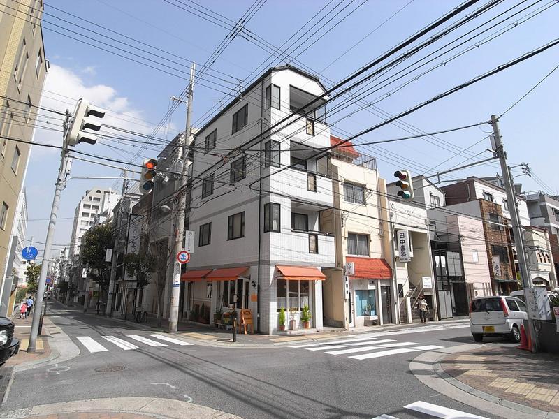 物件番号: 1025832033 シャルマン中山手  神戸市中央区中山手通2丁目 1DK マンション 外観画像
