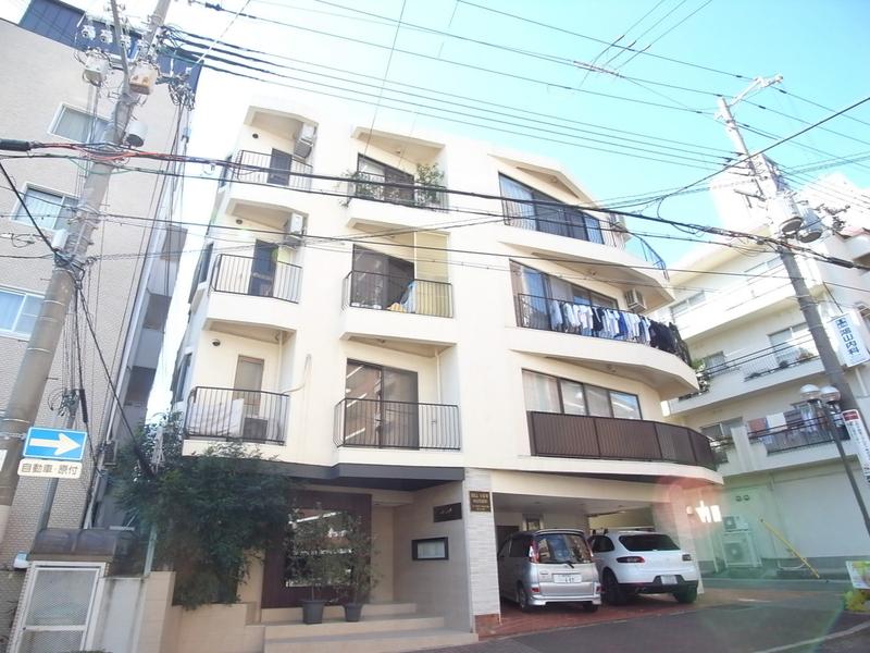 物件番号: 1025850309 ヒルビューマンション  神戸市中央区山本通5丁目 2LDK マンション 外観画像