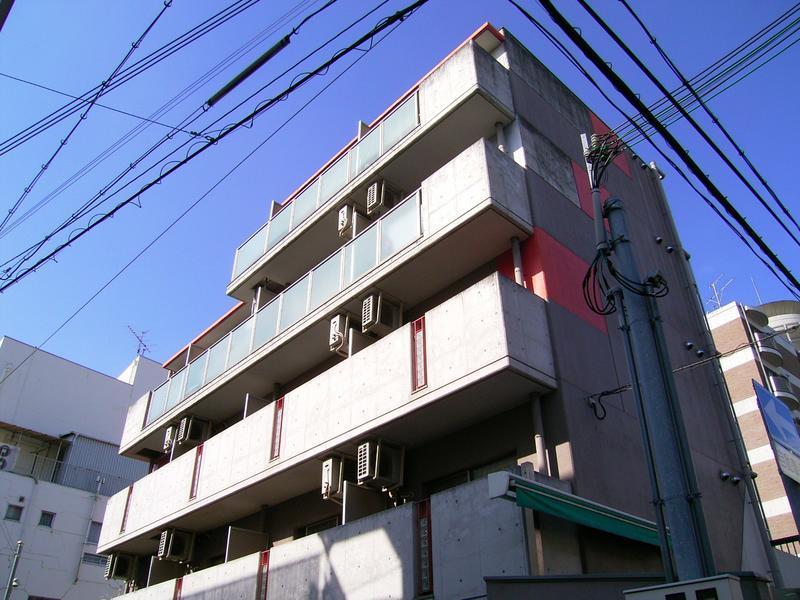 物件番号: 1025847119 エクセルビュー神戸  神戸市中央区楠町2丁目 1K マンション 外観画像