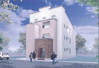 物件番号: 1025850475 H.Cフラッツ月見山Ⅱ  神戸市須磨区月見山本町2丁目 1K ハイツ 外観画像