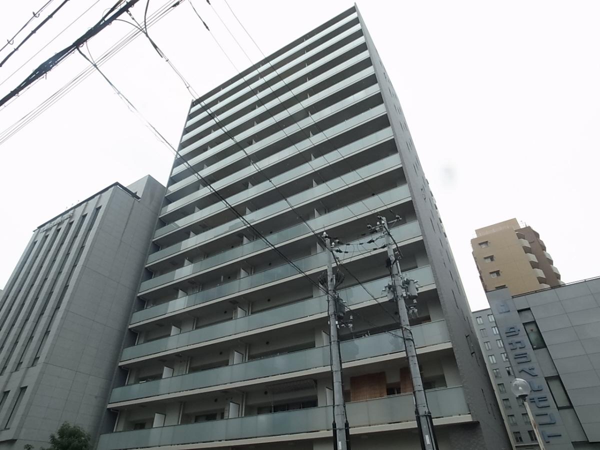 物件番号: 1025856334 神戸三宮ブリーズレジデンス  神戸市中央区磯上通3 2LDK マンション 外観画像