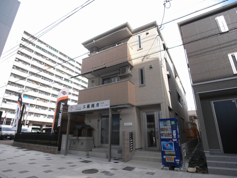 物件番号: 1025850737 KUDOUマンション  神戸市須磨区古川町3丁目 1K ハイツ 外観画像