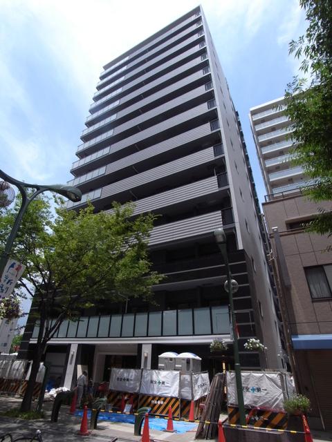 物件番号: 1025851896 W-STYLEL神戸Ⅱ  神戸市兵庫区新開地4丁目 1K マンション 外観画像