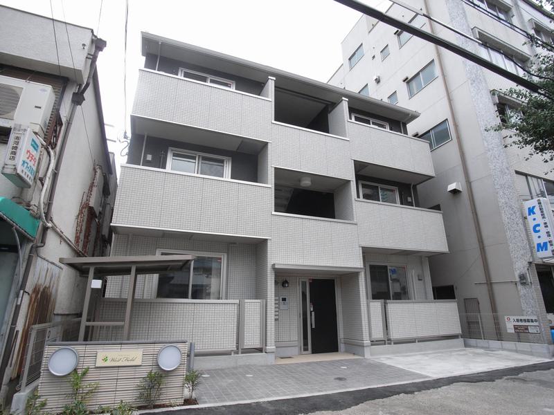 物件番号: 1025852095 ウエストフィールド  神戸市中央区神若通5丁目 1LDK アパート 外観画像