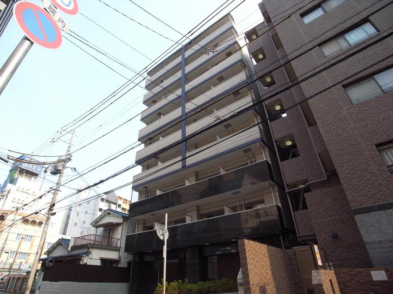 物件番号: 1025881348 エスライズ新神戸Ⅱ  神戸市中央区生田町2丁目 1K マンション 外観画像