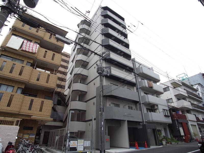物件番号: 1025860559 アドバンス三宮ステージア  神戸市中央区東雲通1丁目 1K マンション 外観画像
