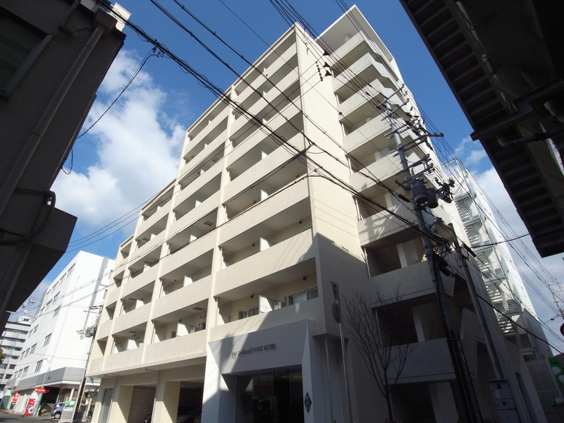 物件番号: 1025859582 Ms'palazzO HAT KOBE  神戸市中央区脇浜町3丁目 1K マンション 外観画像