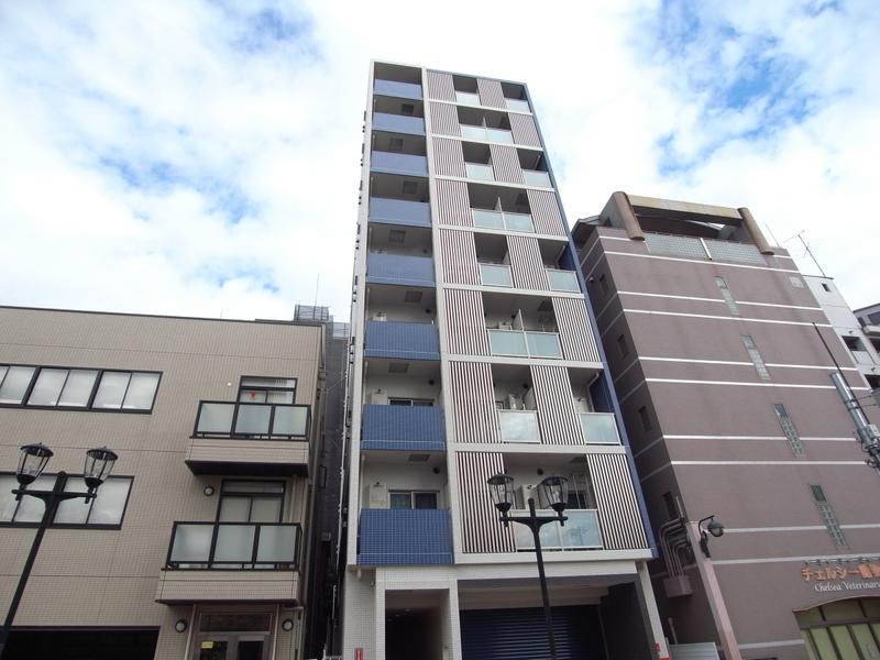 物件番号: 1025881685 J-cube KOBE  神戸市中央区楠町6丁目 1K マンション 外観画像