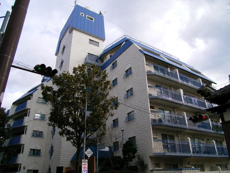 物件番号: 1025883671 北野コーポラス  神戸市中央区北野町1丁目 1DK マンション 外観画像