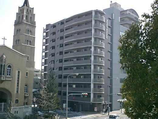物件番号: 1025832383 ラナップスクエア神戸県庁前  神戸市中央区花隈町 1K マンション 外観画像