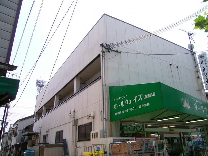 物件番号: 1025802797 須磨浦SKYハイツ  神戸市須磨区須磨浦通4丁目 1K ハイツ 外観画像