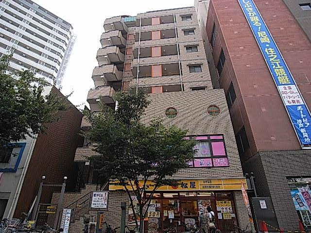 物件番号: 1025881391 パンプキンC  神戸市兵庫区新開地4丁目 1K マンション 外観画像